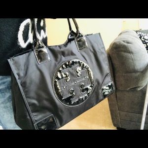 Authentic Tory Burch large tote